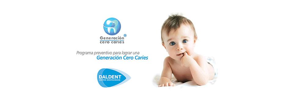 Programa pionero en la prevención de la salud de los dientes de leche. GENERACIÓN CERO CARIES® basa sus principios en un nuevo estándar a nivel mundial para el cuidado dental llamado Ca.M.B.R.A., o Caries Management By Risk Assessement, y en español, Tratamiento de las Caries por Valoración del Riesgo.