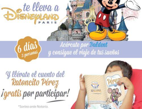 Sorteo de Viaje a Disneyland Paris con Daldent y el Club del Ratoncito Pérez